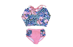 Palmilla Dolce Two Piece Swimsuit Swim Blueberry Bay