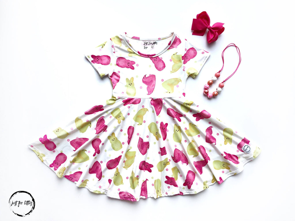 Peeps Twirl Dress Just For Littles