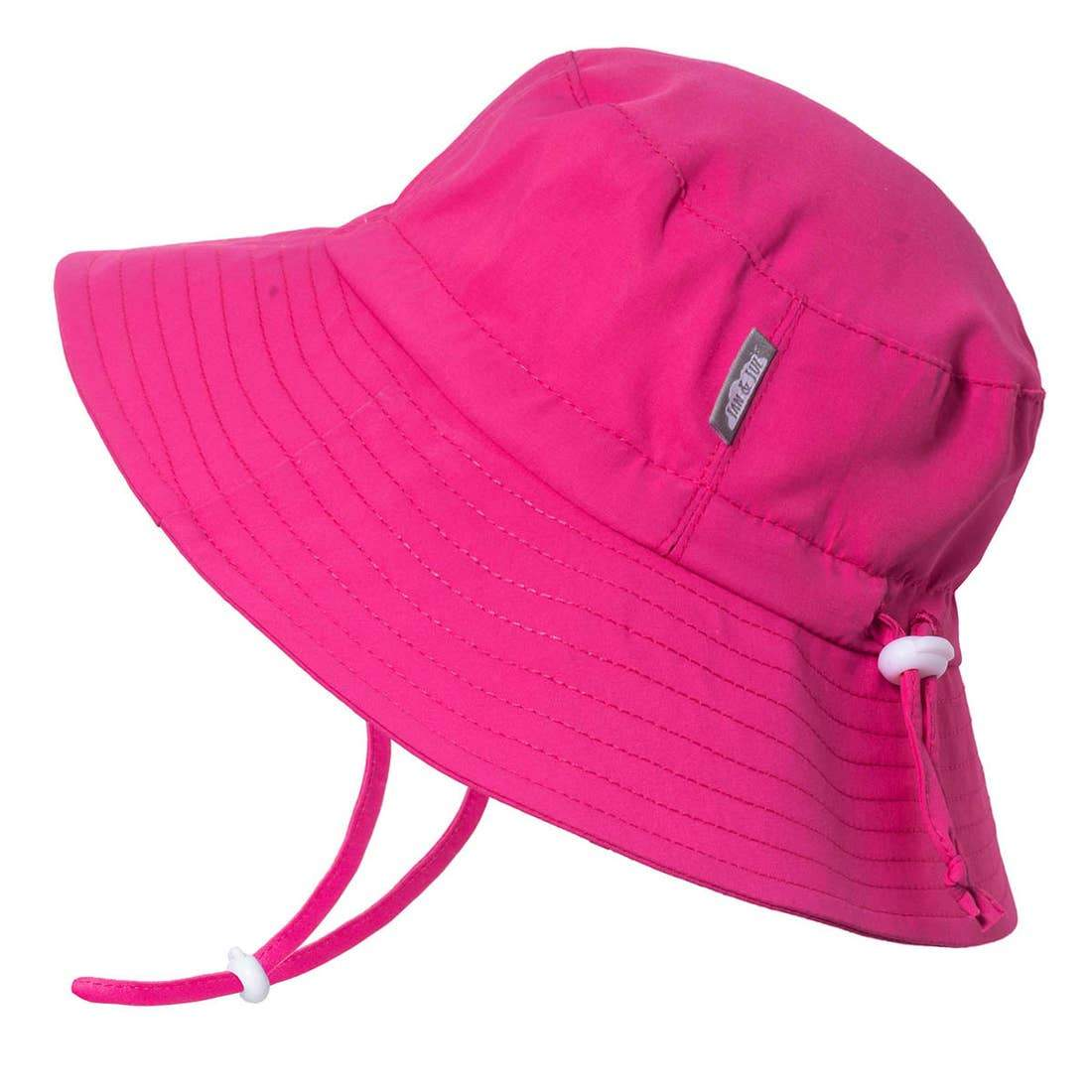 Pink | Cotton Floppy Sun Hat Jan & Jul