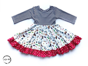 Pirate Twirl Dress Just For Littles
