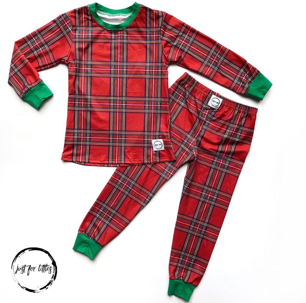 Plaid Loungewear Just For Littles