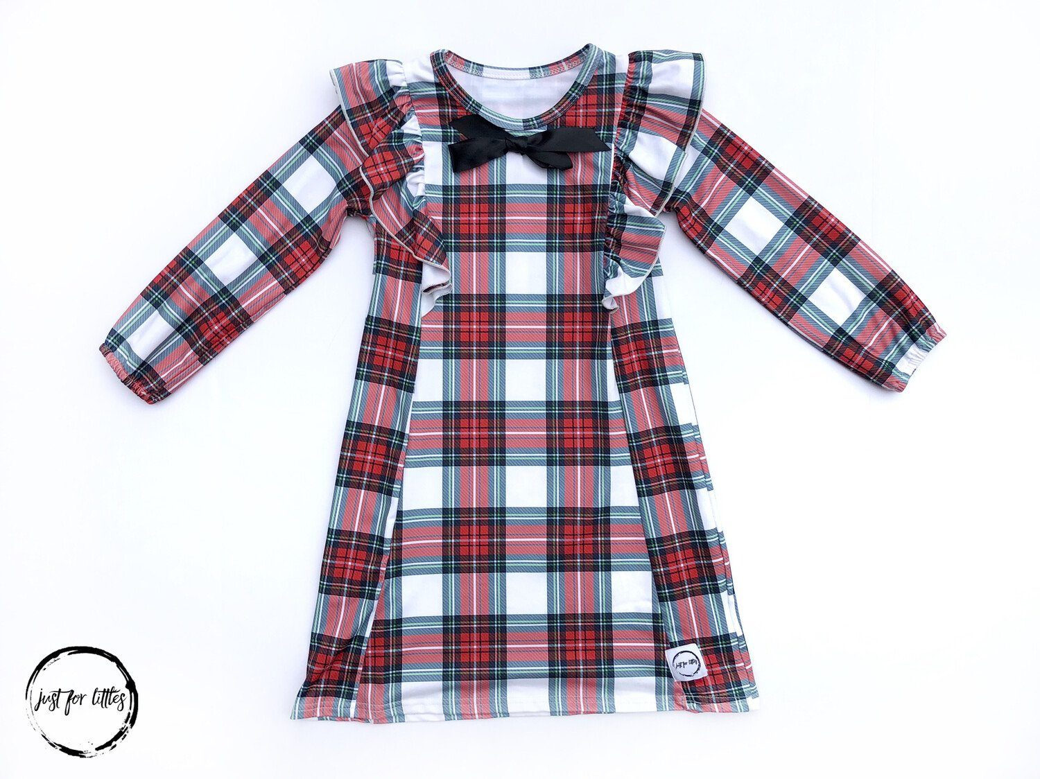 Plaid Party Dress Just For Littles