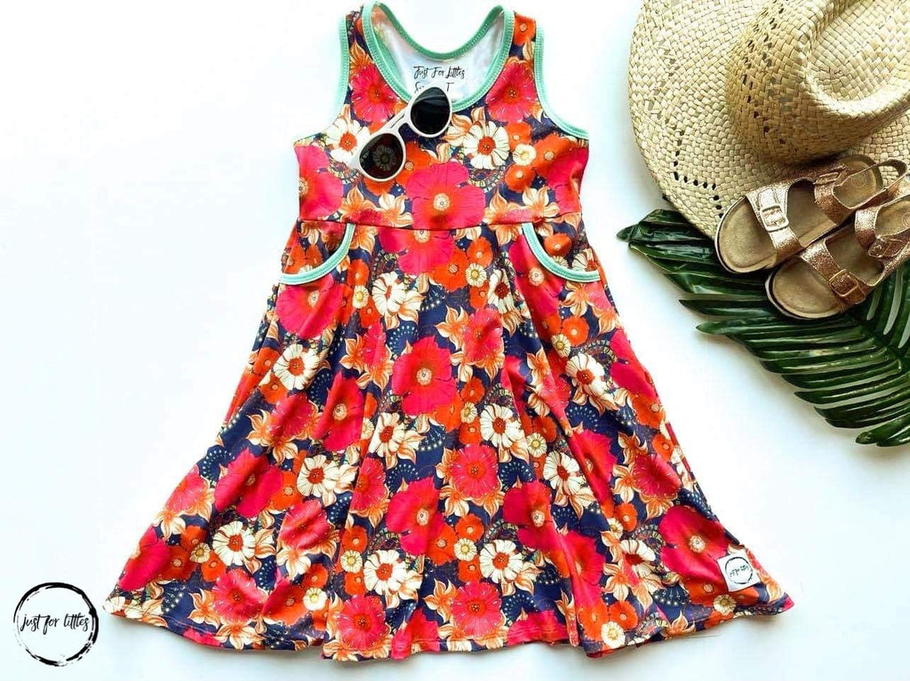 Poppies Pocket Dress Dress Just For Littles