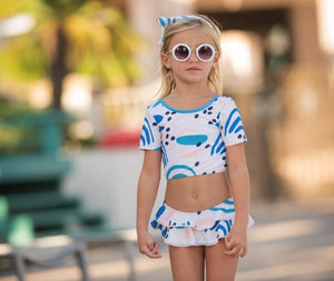 #Pre-Order Haven Blu Two Piece Swimsuit Swim Blueberry Bay