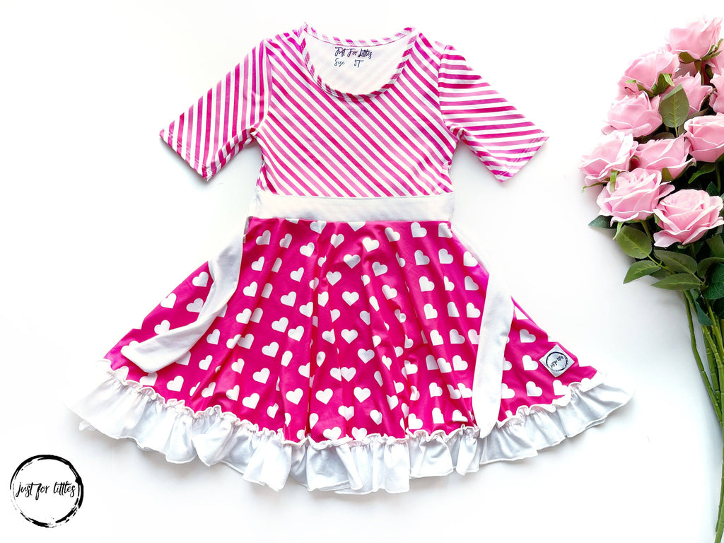 Pretty In Pink Twirl Dress Dress Just For Littles