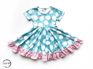 Pretty Pastel Twirl Dress Just For Littles