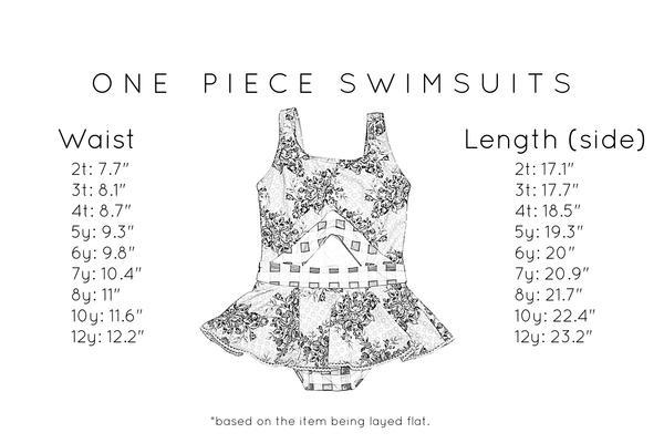 Rosewood One Piece Swimsuit Just For Littles