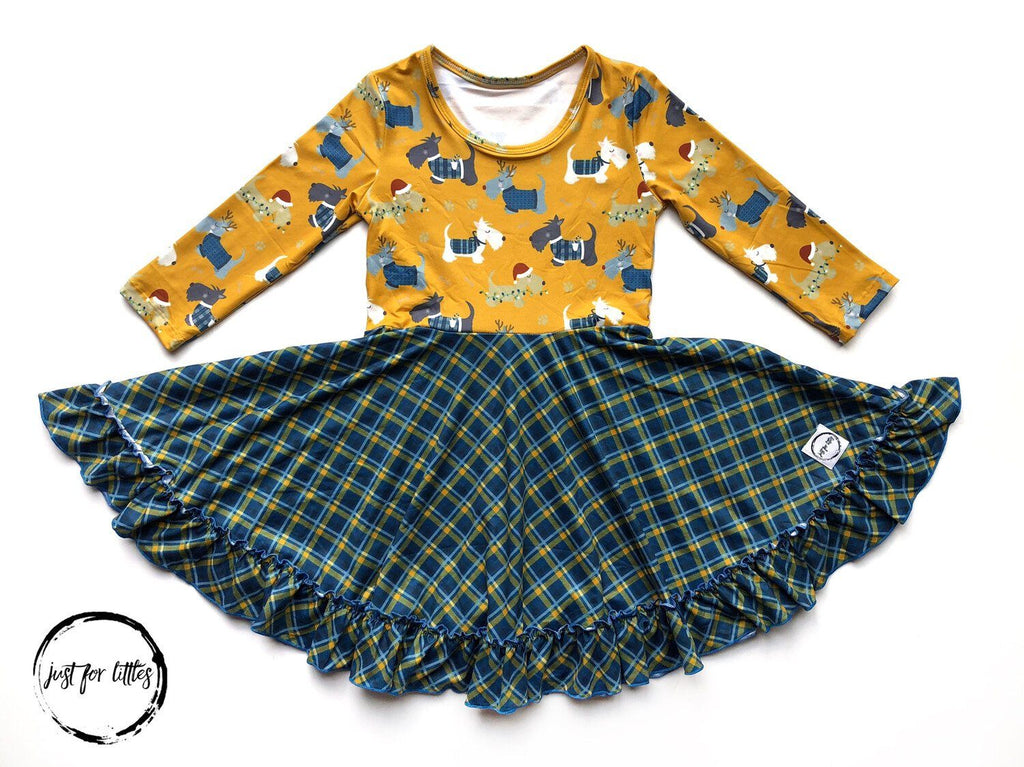 Scotty Dog Twirl Dress Just For Littles