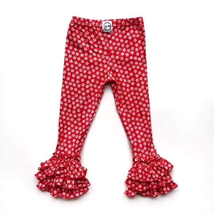 Snowflake Leggings Bottoms Just For Littles