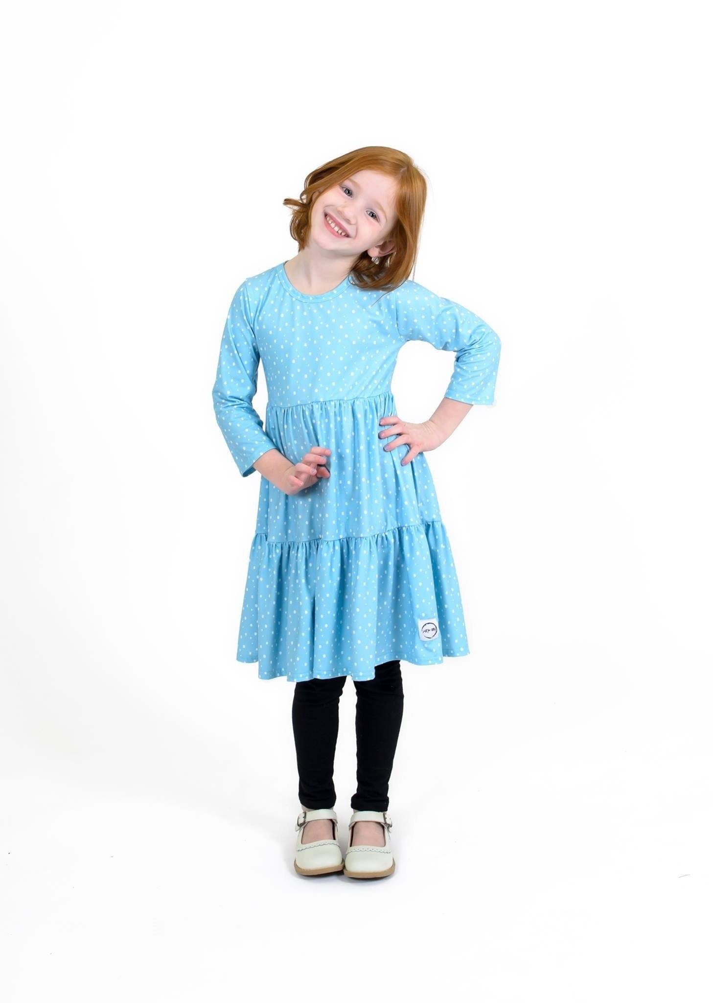 Spring Farmhouse Dress Just For Littles