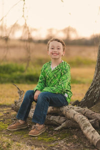 #St. Patrick's Day Sweatshirt Shirt Just For Littles™
