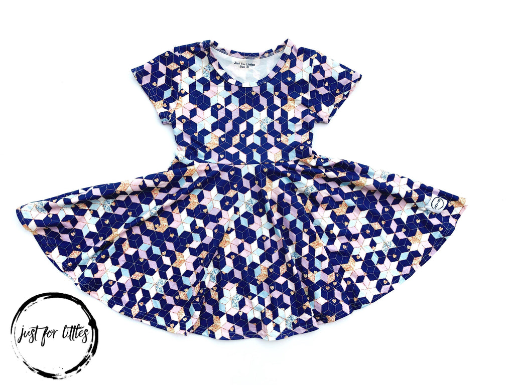 Star Twirl Dress Just For Littles