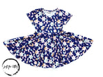 Load image into Gallery viewer, Star Twirl Dress Just For Littles