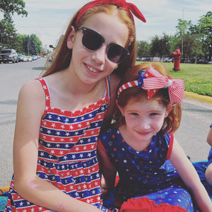 Stars And Stripes Sun Dress Just For Littles