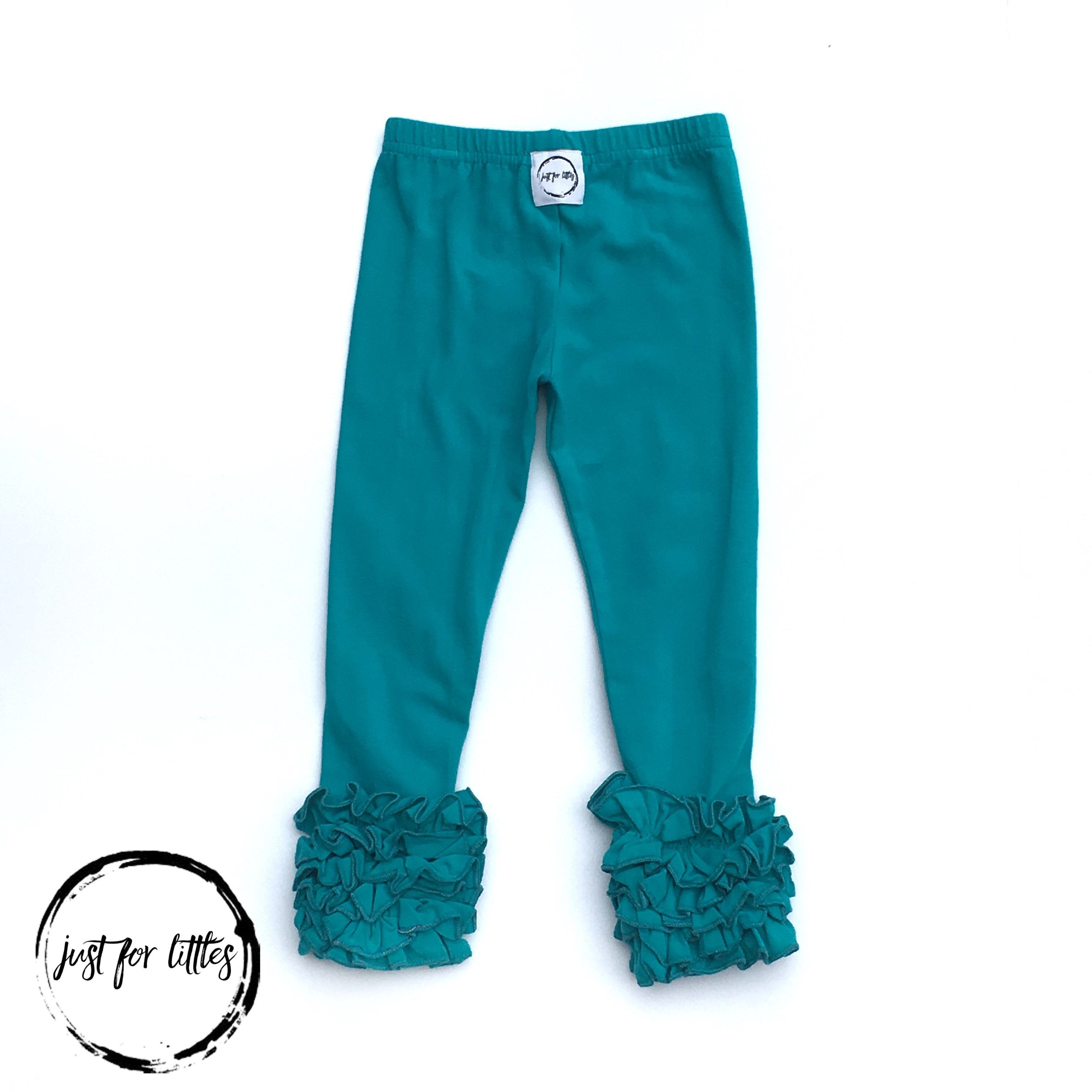 Teal Icings Leggings Just For Littles