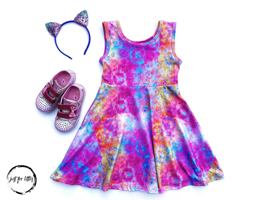 Tie Dye Dress Just For Littles