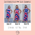 Load image into Gallery viewer, #Tie Dye Glitter Twirl Dress Just For Littles™