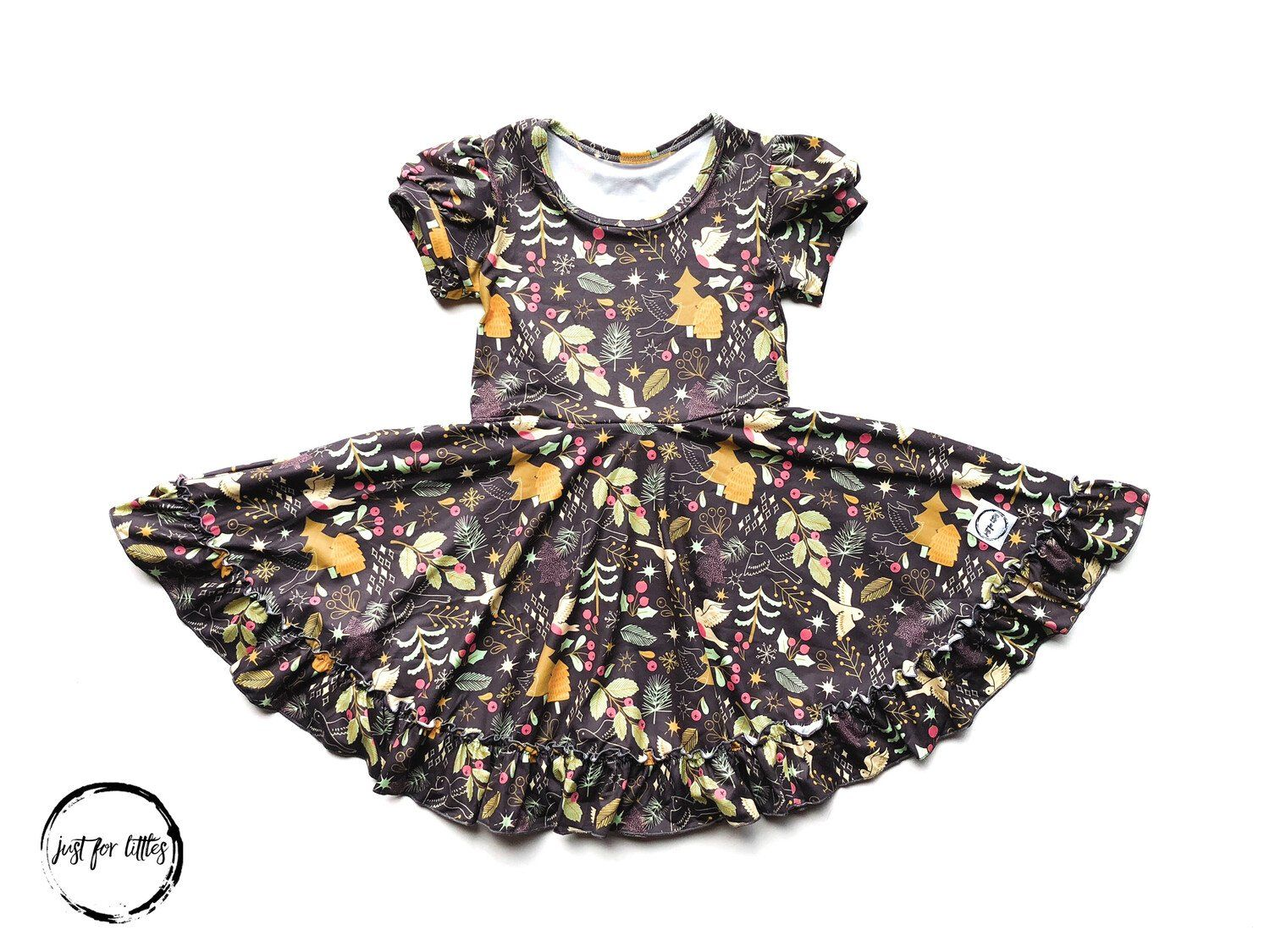 Turtle Dove Twirl Dress Just For Littles