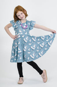 Unicorn Snow Globe Dress Just For Littles