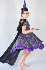 Load image into Gallery viewer, Wizard Twirl Dress Dress Just For Littles