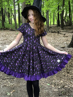 Load image into Gallery viewer, Wizard Twirl Dress Just For Littles