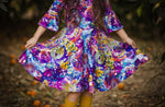 Load image into Gallery viewer, #Wonderland Twirl Dress Dress Just For Littles