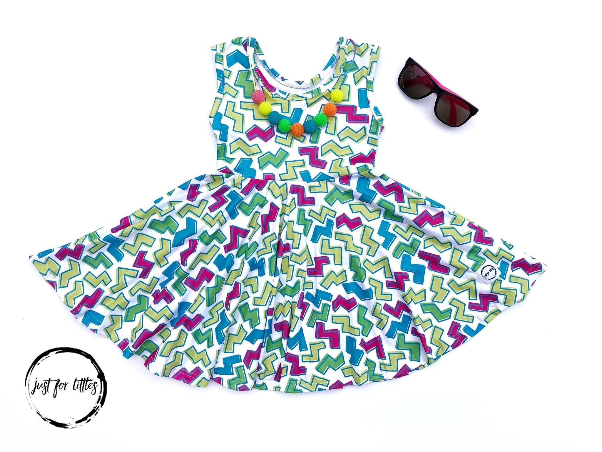 ZigZag Twirl Dress Just For Littles