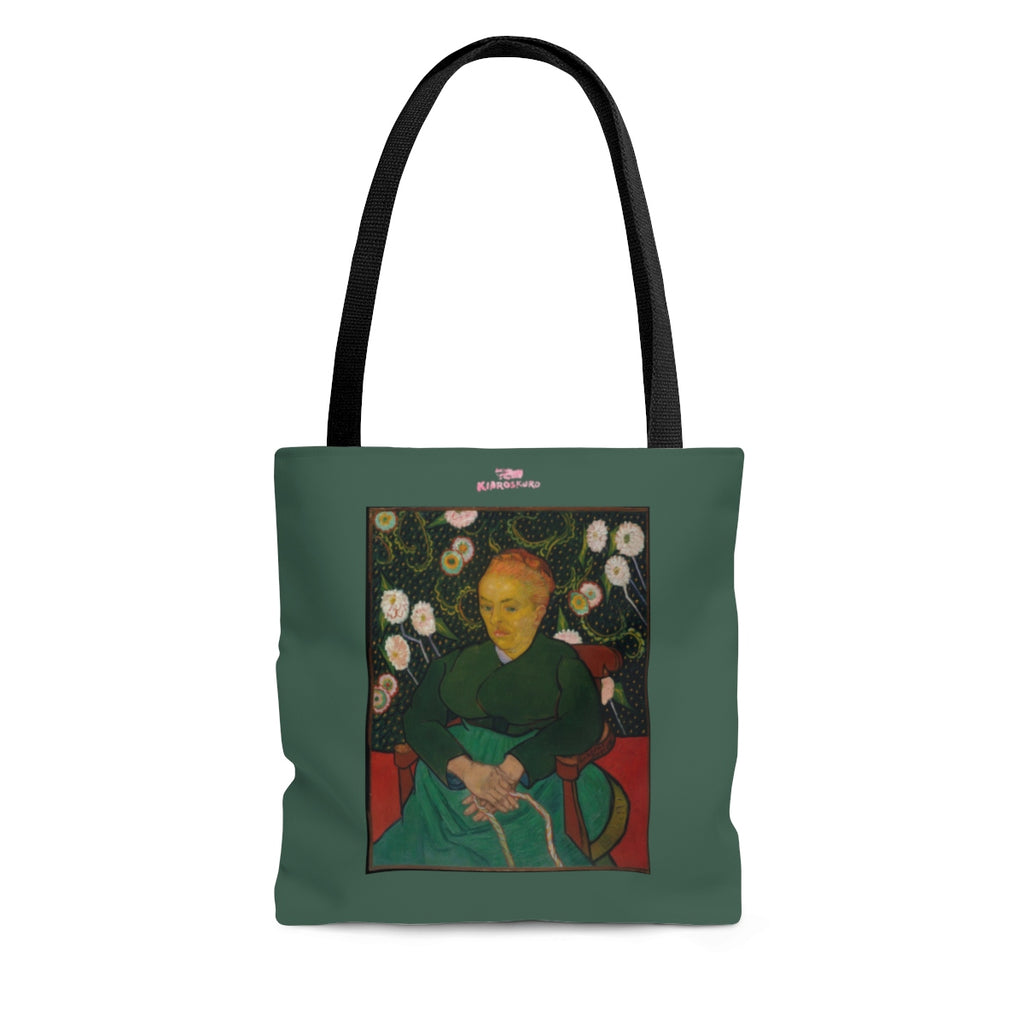 LA BERCEUSE Tote - Kiaroskuro Kiaroskuro Decor- Canvas Prints, Home Décor & Fashion