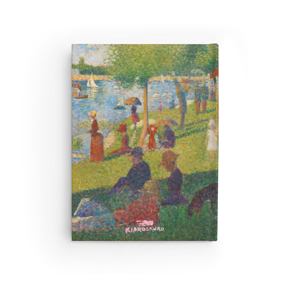 A Sunday on La Grand Jatte [1884] B6 Art Journal - Georges Seurat Kiaroskuro Decor- Canvas Prints, Home Décor & Fashion