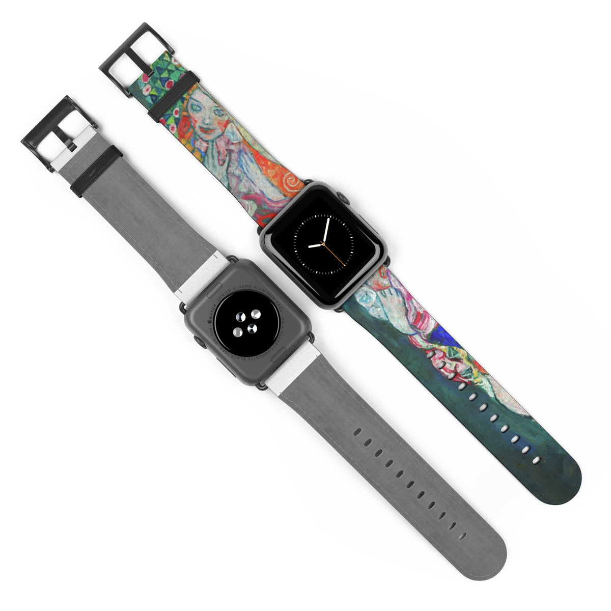 Life and Death [1915] Watch Strap - Gustav Klimt Kiaroskuro Decor- Canvas Prints, Home Décor & Fashion