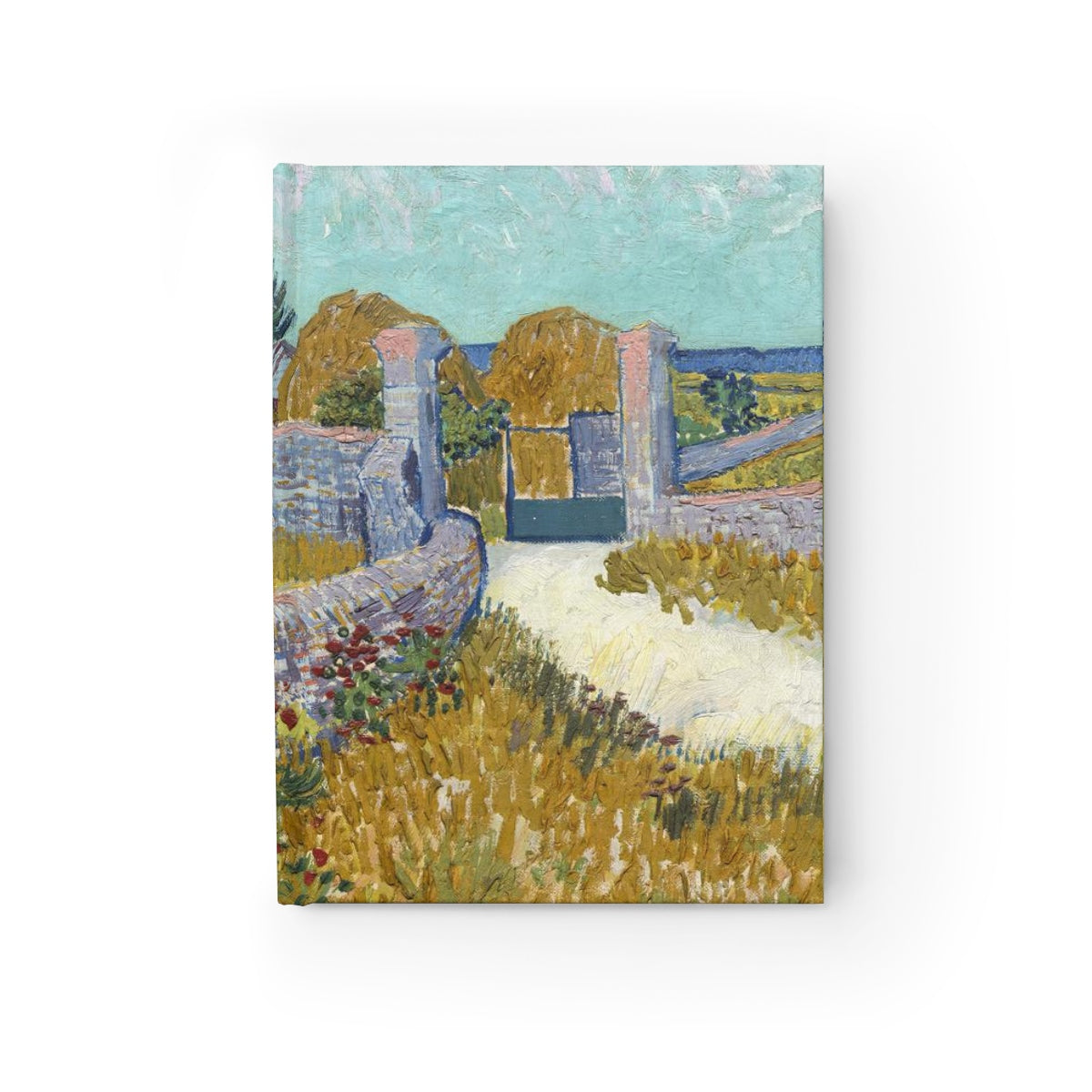 Farmhouse in Provence [1888] B6 Art Journal - Vincent Van Gogh Kiaroskuro Decor- Canvas Prints, Home Décor & Fashion