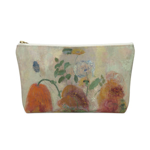 Large Vase with Flower [1912]Travel Pouch - Kiaroskuro
