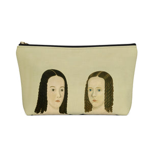 Sister [1840] Travel Pouch - Kiaroskuro Kiaroskuro Decor- Canvas Prints, Home Décor & Fashion
