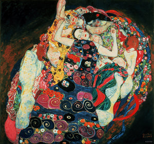 Die Jungfrau (The Maiden) [1913] - Gustav Klimt Kiaroskuro Decor- Canvas Prints, Home Décor & Fashion