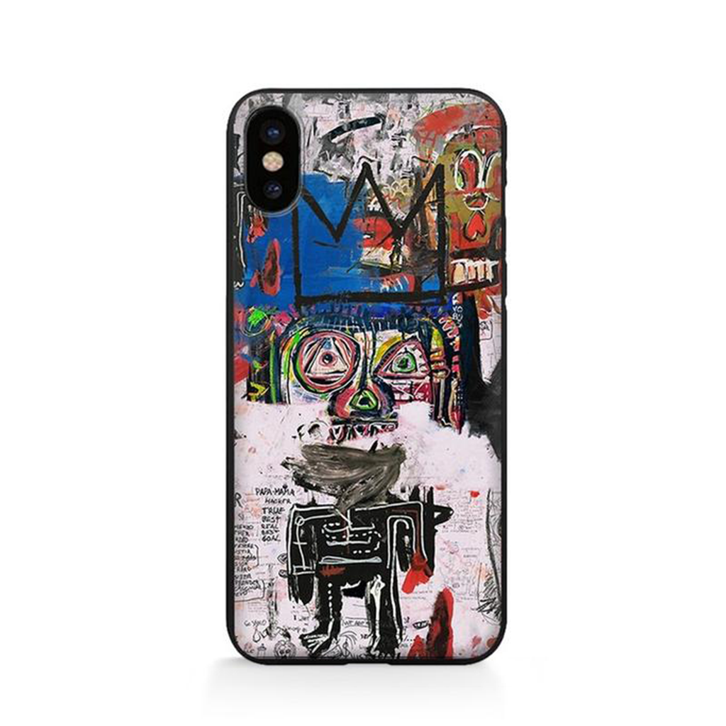 UNTITLED Basquiat Phone Case - Kiaroskuro