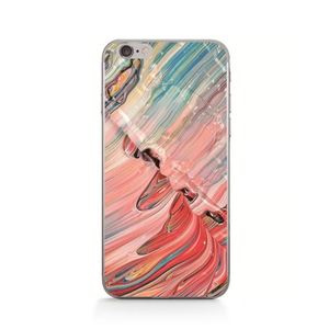 WAVE Coup de Peinture Phone Case [iPhone] - Kiaroskuro Kiaroskuro Decor- Canvas Prints, Home Décor & Fashion