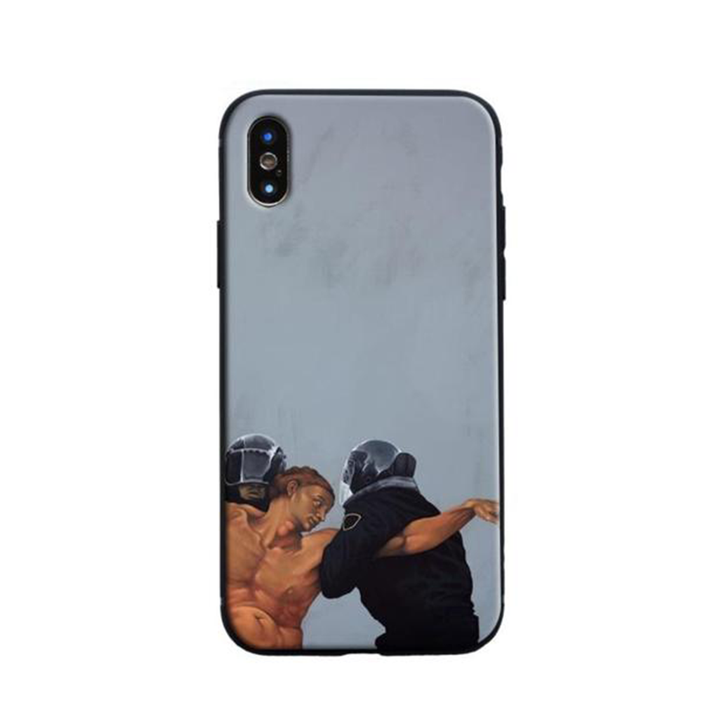 ARREST Michelangelo Phone Case [iPhone] - Kiaroskuro