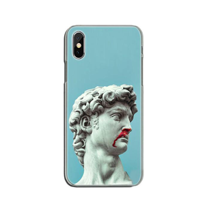 BLEED David Phone Case [iPhone] - Kiaroskuro Kiaroskuro Decor- Canvas Prints, Home Décor & Fashion