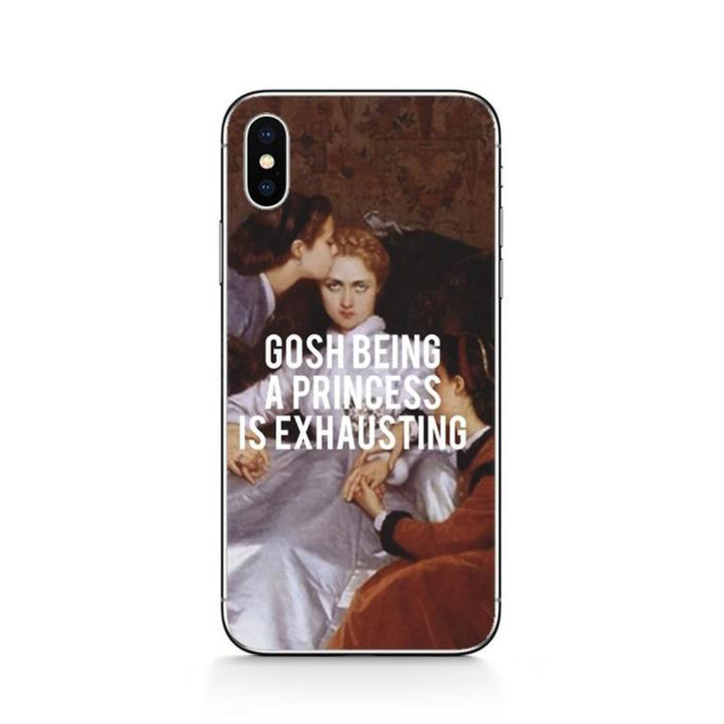 EXHAUSTING Classics Phone Case [iPhone] - Kiaroskuro