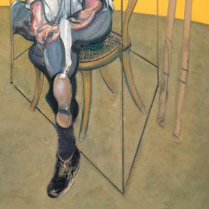 Three Studies of Lucian Freud NO3 [1969] - Francis Bacon Kiaroskuro Decor- Canvas Prints, Home Décor & Fashion