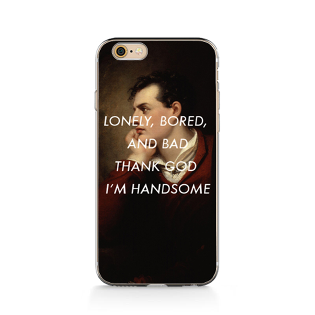 THANK GOD I'M HANDSOME Classics Phone Case [iPhone] - Kiaroskuro Kiaroskuro Decor- Canvas Prints, Home Décor & Fashion