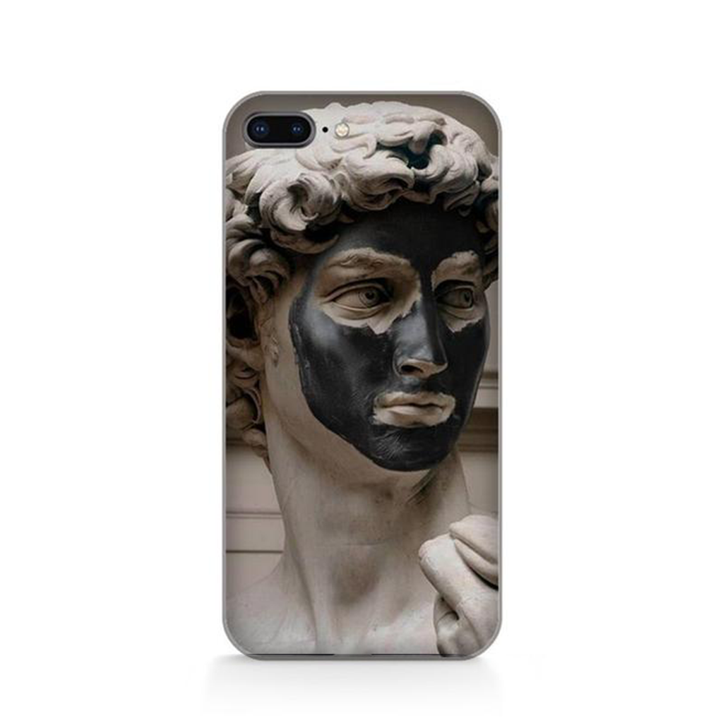 MAN MASK Michelangelo Phone Case [iPhone] - Kiaroskuro Kiaroskuro Decor- Canvas Prints, Home Décor & Fashion