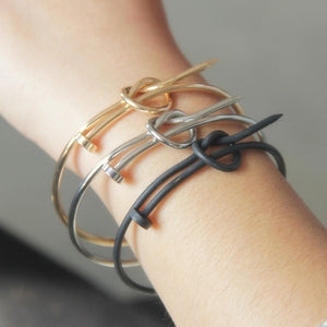 NAILED IT Knot Cuff Bracelet - Kiaroskuro  Kiaroskuro Decor- Canvas Prints, Home Décor & Fashion