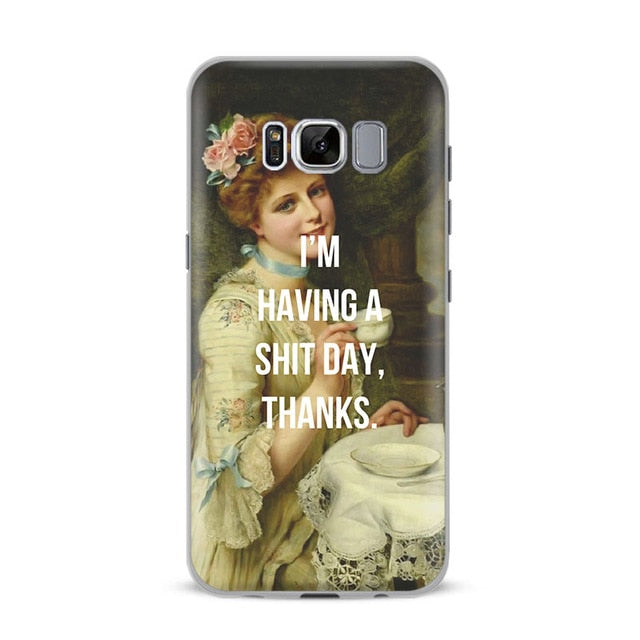 THANKS Classics Phone Case [Samsung] - Kiaroskuro Kiaroskuro Decor- Canvas Prints, Home Décor & Fashion
