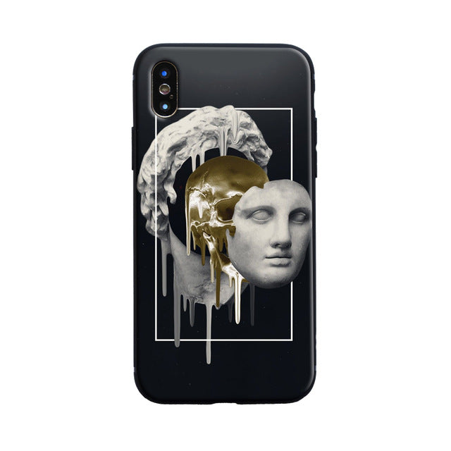 REPLACE Michelangelo Phone Case [iPhone] - Kiaroskuro Kiaroskuro Decor- Canvas Prints, Home Décor & Fashion