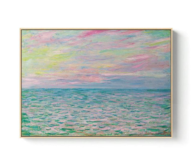 MONET Landscape Paintings Collection - Kiaroskuro Kiaroskuro Decor- Canvas Prints, Home Décor & Fashion