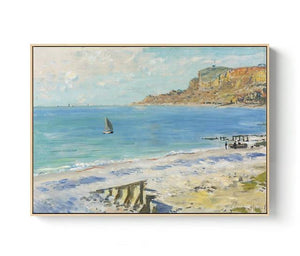 MONET Landscape Paintings Collection - Kiaroskuro