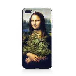 ROLL HER EYES Mona Lisa Phone Case [iPhone] - Kiaroskuro Kiaroskuro Decor- Canvas Prints, Home Décor & Fashion