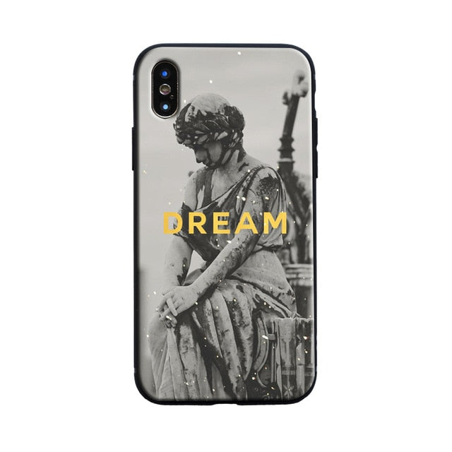 DREAM Michelangelo Phone Case [iPhone] - Kiaroskuro Kiaroskuro Decor- Canvas Prints, Home Décor & Fashion