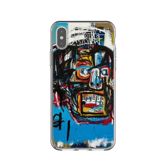 SHOUT Basquiat Phone Case [iPhone] - Kiaroskuro Kiaroskuro Decor- Canvas Prints, Home Décor & Fashion